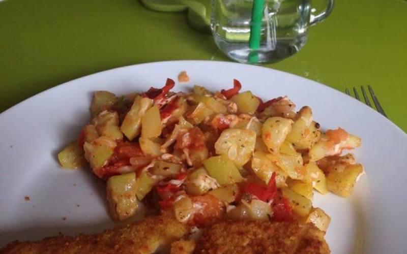 Recette Ratatouille Courgette Tomate Avec Poisson Pane Economique Et
