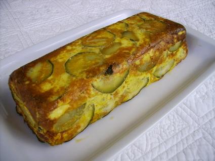 Recette pain de courgettes (cake salé)
