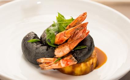 Recette de gambas à l'aigre-doux au poivre de sichuan, aubergine ...