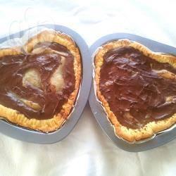 Recette tarte poire chocolat pour la saint