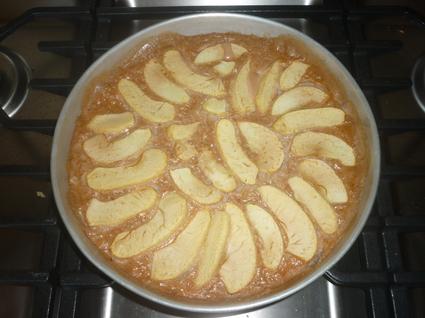 Recette de gâteau de riz aux pommes
