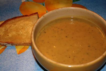Recette de soupe de châtaignes et potiron
