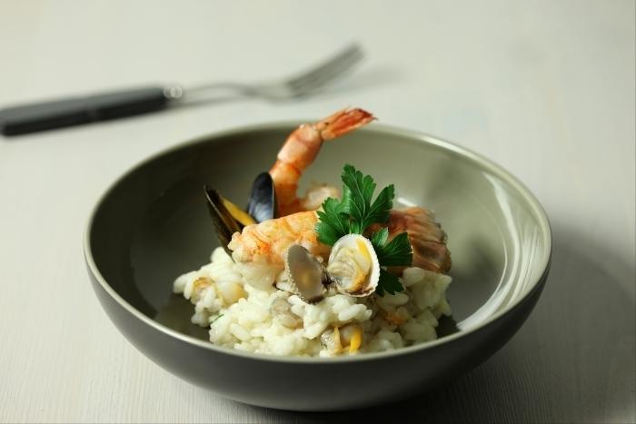 Recette de risotto aux coquillages et crustacés facile et rapide