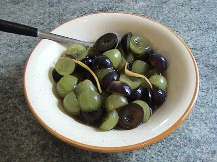Recette de salade de raisins
