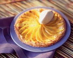 Recette tarte poires vanille