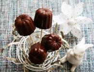 Recette de caramels au chocolat, bio, sans oeufs, gluten