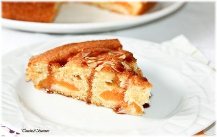Recette de gâteau abricot amande