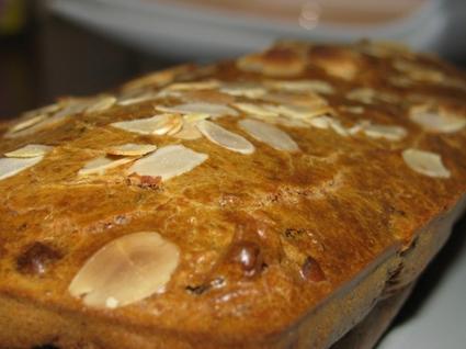 Recette de gâteau banane amande
