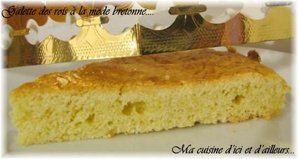Recette de galette des rois à la mode bretonne