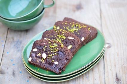 Recette de pain d'épices au cacao et pépites de chocolat