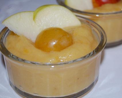Recette de compote pommes mirabelles
