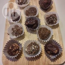 Recette délicieuses truffes cacao et caroube (végétaliennes et ...