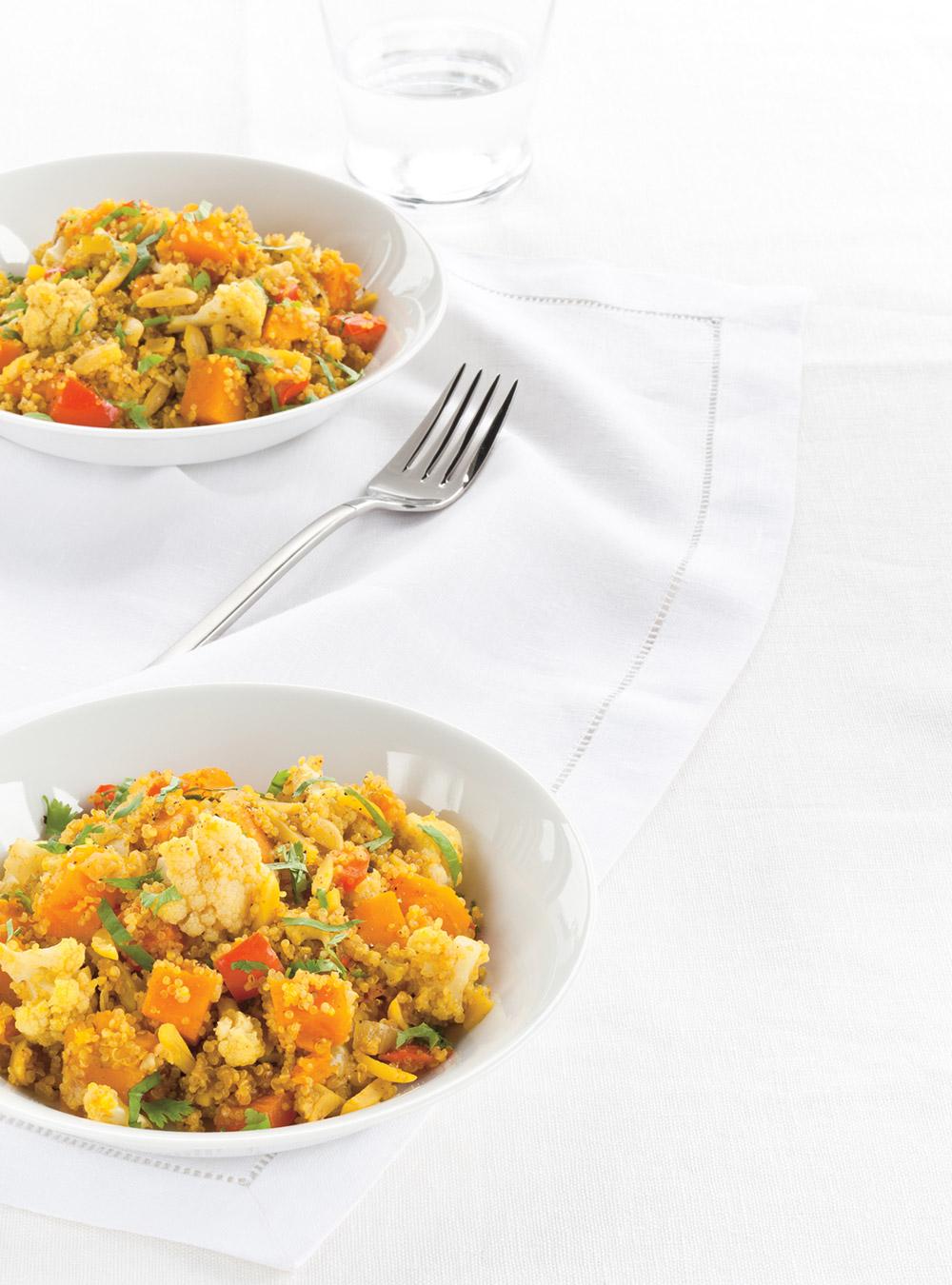 Quinoa végétarien au cari | ricardo