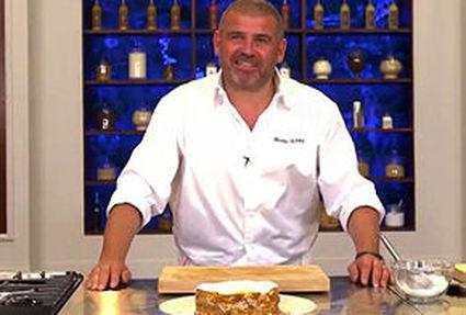Gâteau de crêpes par christian etchebest
