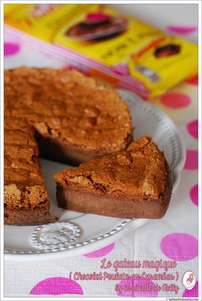 Gâteau magique au chocolat au carambar