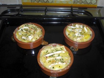 Recette de douceur de pommes de terre au camembert