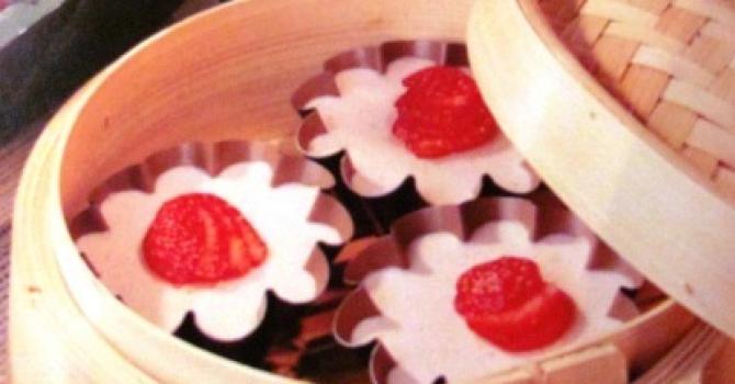 Recette de mousse de fraise à la vapeur par carole