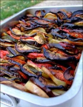 Briam (gratin de légumes, recette grecque) pour 8 personnes ...