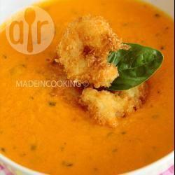 Recette soupe froide de tomates et carottes