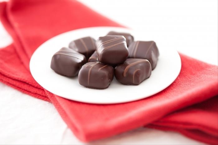 Recette de bonbons de noël au chocolat au lait facile et rapide