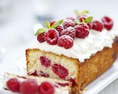 Recette cake aux framboises et à la cannelle