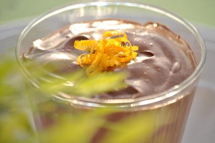 Recette mousse chocolat orange (flan, mousse)