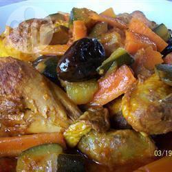 Recette tajine de poulet aux citrons confits et aux olives – toutes ...