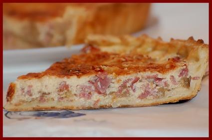 Recette de tarte aux endives et bacon