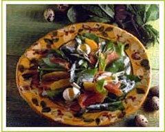 Recette salade de truite fumée à l'oseille