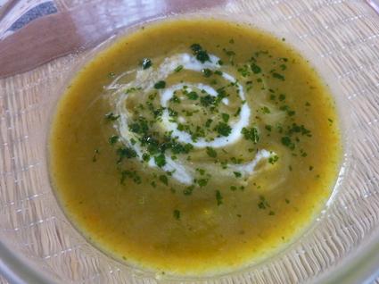 Recette de soupe aux légumes du jardin