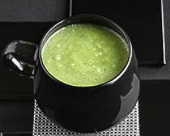 Recette gaspacho vert en verrine