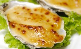 Huîtres gratinées et fondue d'endives pour 2 personnes