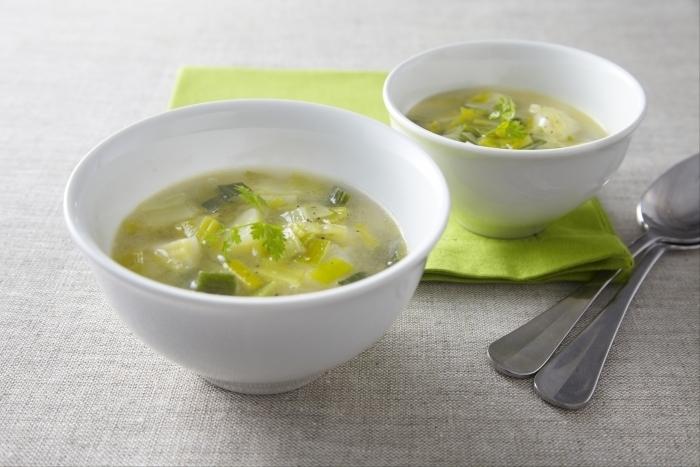 Recette de soupe de poireaux facile et rapide