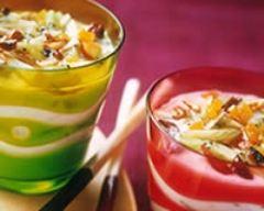 Recette yaourt aux fruits secs à la cannelle