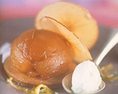 Recette ruches de pommes pink lady, sorbet léger à la verveine