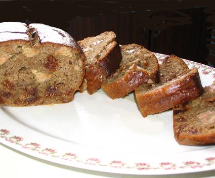 Recette de cake au foie gras et figues de montagne