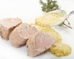 Recette filets mignon de porc à la crème et à la moutarde