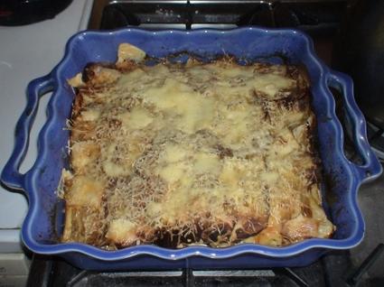 Recette de lasagnes d'aubergines tomme de domessin