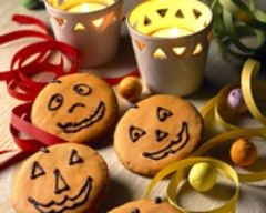 Recette petits biscuits d'halloween