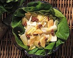 Recette salade d'endives et de pommes au curry