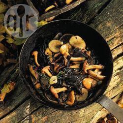 Recette poêlée de champignons sauvages – toutes les recettes ...
