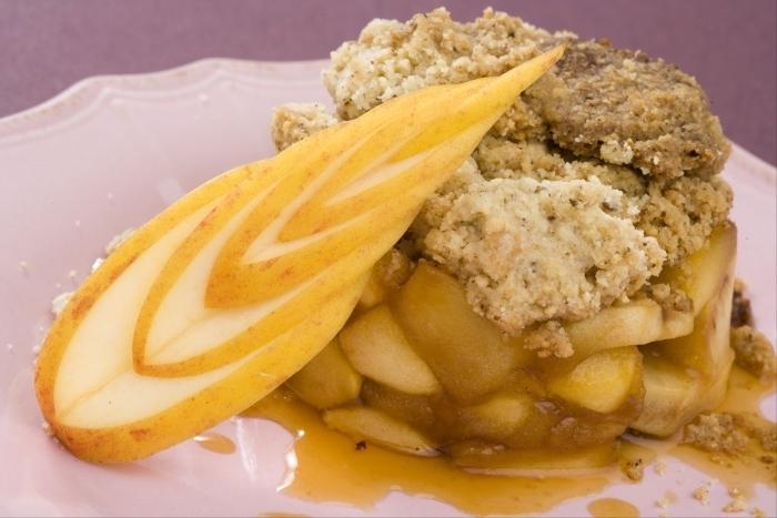 Recette de crumble de pommes et poires facile et rapide
