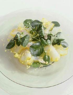 Cresson mimosa au haddock pour 4 personnes