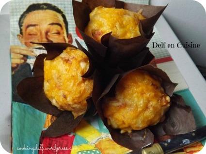 Recette de muffins jambon-chèvre