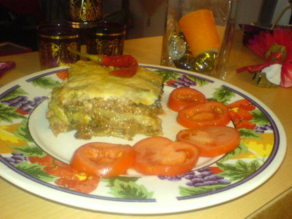 Recette de lasagnes d'aubergines et de courgettes