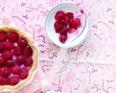 Recette tartelettes aux framboises et crème pâtissière