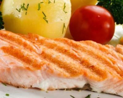 Saumon aux petits légumes au four   cuisine az