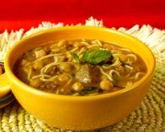 Recette soupe harira