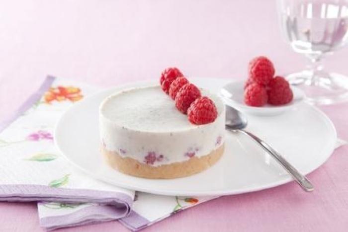 Recette de cheesecake framboises-thé vert aux biscuits citron facile ...