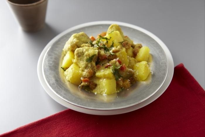 Recette de curry de porc et légumes au lait de coco facile et rapide